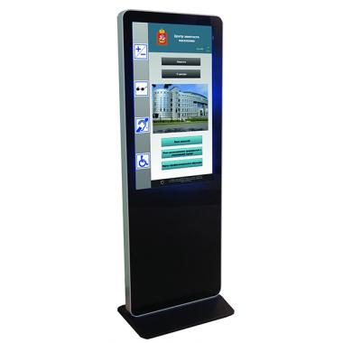Информационный киоск для получения информации об учреждении