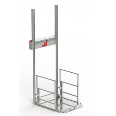 Подъемник вертикального типа