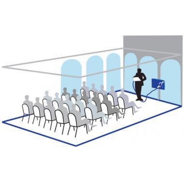 Исток С1м - стационарная система информационная для слабослышащих от 50 до 100 м2