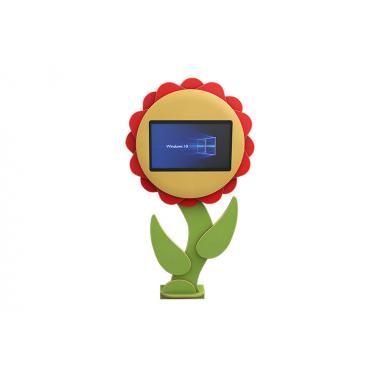 Сенсорные пристенные игровые комплексы: «Подсолнух», «Цветок», «Груша», «Яблоко»
