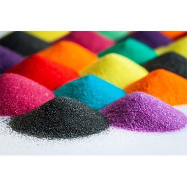 Цветной песок для рисования