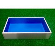 Юнгианская песочница  из дерева с синим дном