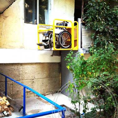 Подъёмник вертикального перемещения ПВт-1ПУ2, 1300x3000x250 мм