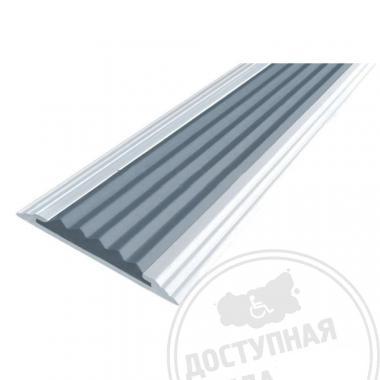 Алюминиевая накладная полоса, без технологических отверстий под крепёж, без покрытия, 40х5,6 мм