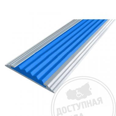 Алюминиевая накладная полоса, стандарт, без технологических отверстий под крепёж, без покрытий, 40х5,6 мм