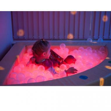 Подсветка для сухого бассейна