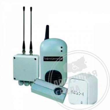Комплект двухканальной системы вызова ПС-2