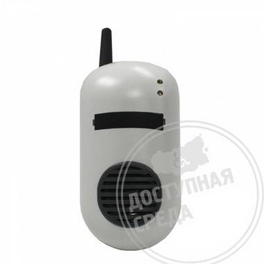 Приемное устройство двухканальной системы вызова помощи ПС-2 160x90x66мм